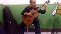 新疆哈密马老师演奏古典吉他曲《前奏曲一号》