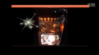 莘县改灯光利达灯光音响升级进口福特F650升级博士透镜,进口氙气灯,红色天使眼,