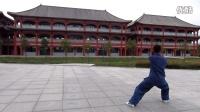 陈家沟陈辉太极拳培训中心主教练张育宾 四十九式单剑全套演练