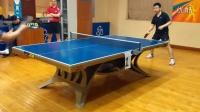 《巧遇湿父打乒乓球系列》第二集:湿父对战某网友之超级龙卷风