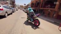 Street Bike STUNTS Motorcycle Drifting + Riding Wheelies  5