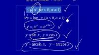 011401  基本初等函数与初等函数的连续性