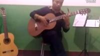 新疆哈密马老师古典吉他演奏指弹曲《无题》