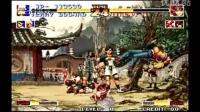 (转载视频)拳皇94(KOF94)最高难度饿狼队全一挑三通关