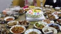 這是我同事小妹過生日。