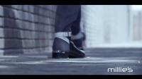 超模金大川型格演绎millie's酷冬鞋履