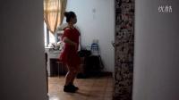广州美丽依旧舞蹈课堂时尚恰恰之四英文背面演示