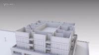 Blender AN插件建筑动画测试1