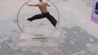 拍客!台北街头最酷最震撼的街头钢环艺人表演_高清