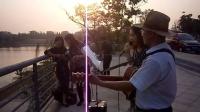 151015THU 流行歌曲 马帮少妇 吉他伴奏 TONY大叔 南京 仙林羊山公园  (2)