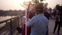 151015THU 流行歌曲 马帮少妇 吉他伴奏 TONY大叔 南京 仙林羊山公园  (1)