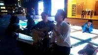 151017SAT 吉他弹唱 指弹 老弟兄 路人 南京 中山路 艾尚天地广场 (20)