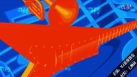 L00734精品沖冠LED視頻設計大屏幕素材 音樂樂譜音符話筒藍色樂章