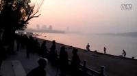 嘉鱼县三湖连江风景区之一 湖景建筑并茂