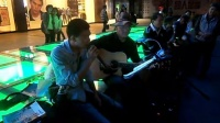 151018SUN 吉他弹唱 伴唱 老弟兄 路人 南京 中山路 艾尚天地广场 (6)