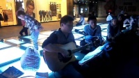 151018SUN 吉他弹唱 伴唱 老弟兄 路人 南京 中山路 艾尚天地广场 (4)