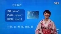 日语五十音图日语学习入门 第1.课 日本文字介绍