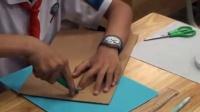 浙教版小學勞技五下《紙板凳的制作》課堂教學視頻實錄-丁銀芬