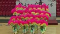 """森吉德玛采编:扇子舞《欢聚一堂》呼和浩特代表队赴港参加""""漫舞夕阳""""舞蹈大赛。"""
