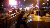 151021WED 吉他指弹练习 TONY大叔 南京 玄武门 地铁口广场  (1)