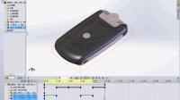 昆山鼎典模具数控培训-SolidWorks手机动画制作