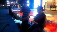 151024SAT 吉他弹唱 伴唱 陆哥 TONY大叔 老弟兄 南京 艾尚天地广场  (2)