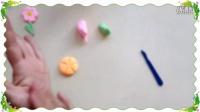 彩泥制作教学 小花 幼儿彩泥创意花卉类(2)