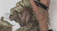【手绘】怪物概念手绘设计_4
