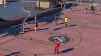 布鲁【NBA2K16】街头公园  2V2再战双99+(4)