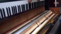 原装进口日本二手钢琴   K-2即兴视频  18217749703