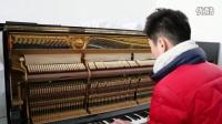 原装进口日本二手钢琴FU22 钢琴视频18217749703