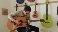 西安小伙用吉他即兴模仿古琴 你听像不像?