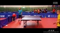 看国乒教练员肖战如何指导直板小队员打球的 乒乓球教学视频