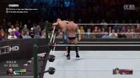 (BT青年帮)WWE2K15【2K展示柜】竞争.忠诚.不敬 01