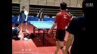 近距离观看日本乒乓球国家队赛前训练 都有谁? 乒乓球队内训练