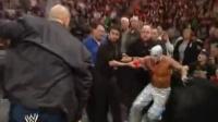 """WWE惨案:""""拳王""""梅威瑟袭击大秀哥"""