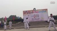 【Grass】郑州小草跆拳道-2015年10月郑州世纪欢乐园亲子趴活动开幕式演出
