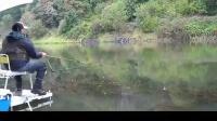 钓鱼视频水库野钓实战高清 串钩钓鱼