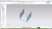 UGNX10.0钣金8-实体转换为钣金_H264高清_1280x720