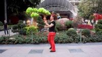 广州美丽依旧舞蹈课堂动感现代舞之三正面演示。重拍