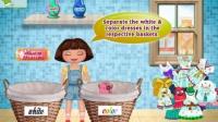 朵拉历险记动画片中文版朵拉历险记全集高清朵拉分类洗衣02
