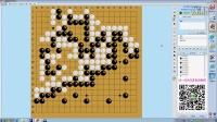【外边更大】李老师少儿围棋复盘第20集 入门/围棋对战培训