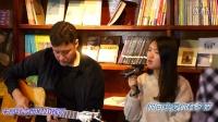 老外弹奏《月亮》朱丽叶吉他