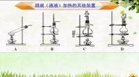 微课:实验室气体发生装置的选择(莆田二中 郭樱滨)