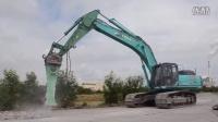 欧洲使用神钢 SK 500-9 挖掘机