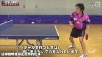 《湿父教球》第16集:丹羽孝希握拍方法及正手快拉技术_乒乓球教学视频