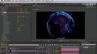AE TrapcodeParticular免费高级教程系列 手把手教你怎么用一张照片制作出超炫超复杂的3D点阵粒子地球模型动画1