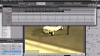 视频速报:iClone4教學範例 1 07 開車互動與時間軸編輯-www.nbitc.com,慧之家