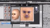 视频速报:iClone4教學範例 3 01 臉部創造-www.nbitc.com,慧之家