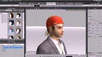 视频速报:iClone4教學範例 3 02 頭髮調整-www.nbitc.com,慧之家